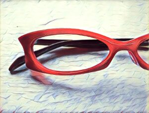 Red Ruby Glasses Frames