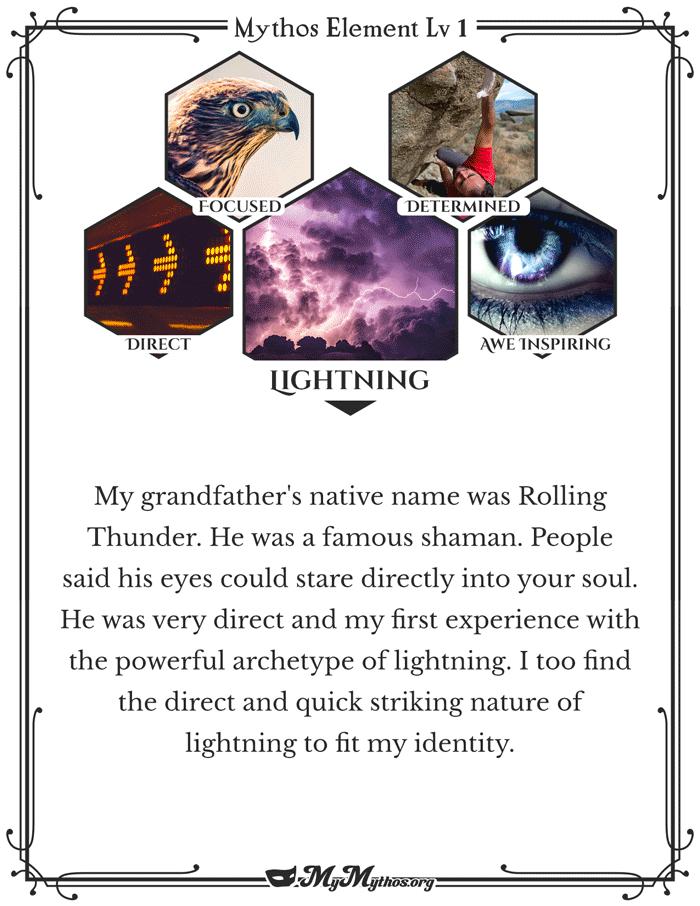 personal mythology element